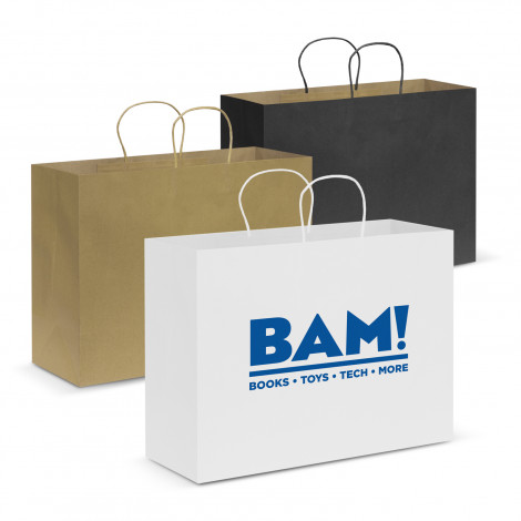 Paper Carry Bag - Extra Large - Printing Per Col/Pos
