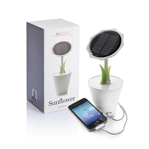 Solar Sunflower 2500mAh Charger - Printing Per Col/Pos