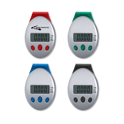 Deluxe Multifunction Pedometer - Printing 1 Colour