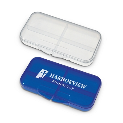 Rectangular Pill Case - Printing 1 Colour