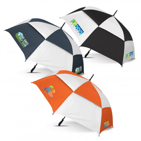 Trident Sports Umbrella - Checkmate - Screen Printing Per Panel