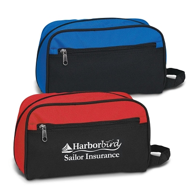 Toiletry Bag - Transfer/Printing 1 Colour