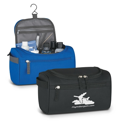Deluxe Travel Toiletry Bag - Transfer/Printing 1 Colour