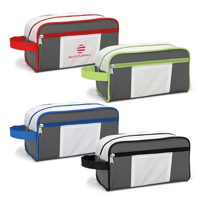 Weston Deluxe Toiletry Bag - Transfer/Printing 1 Colour