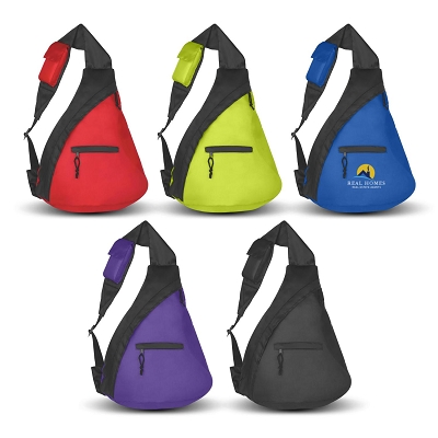 Budget Sling Backpack - Transfer/Printing 1 Colour