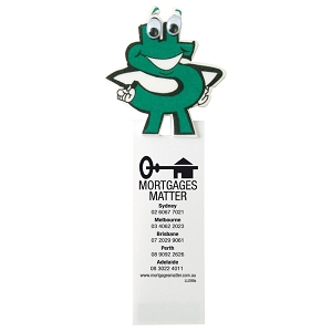 Dollar Sign Magnetic Bookmark - Includes a 1 colour printed logo