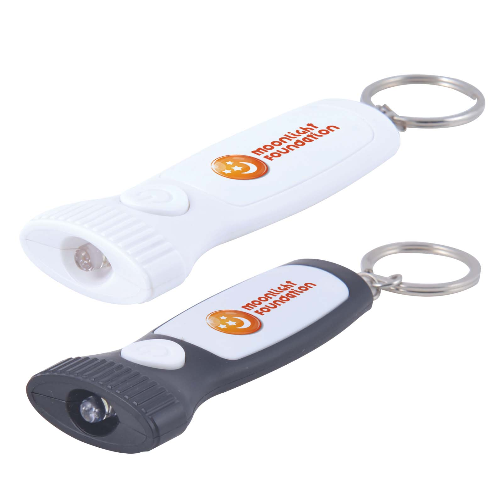 Flash Flashlight Keytag - Includes a 1 colour printed logo