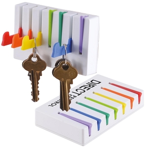 Valet Handy Hook Key Holder - Includes a 1 colour printed logo