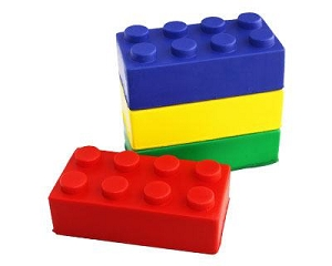 Building Blocks - Includes a 1 colour printed logo