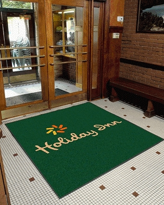 Entrance Mat in Full Colour - 120 x 180cm - Includes a full colour logo