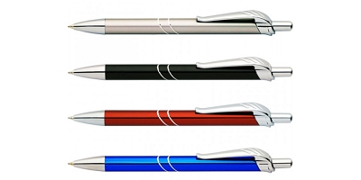 Pairs Pens - Includes laser engraved logo - On Sale