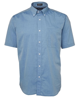 JB'S Short Sleeve FINE CHAMBRAY SHIRT