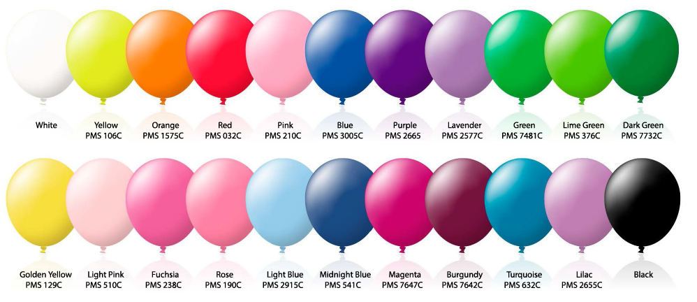 Balloon 30cm - Includes a 1 colour printed logo