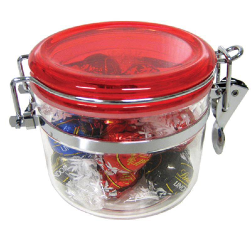 Canister Filled with Lindor Balls X 12 - Includes Colour Sticker, From $15.6