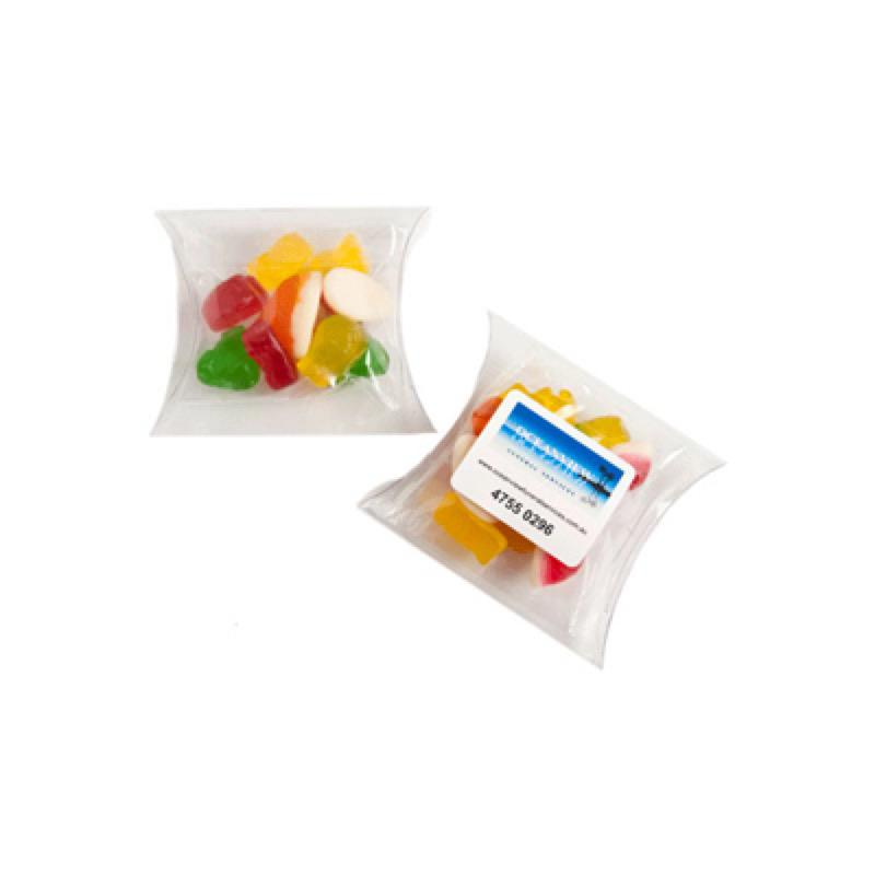 Mixed Lolly Bags in Pillow Pack 25G - Includes Colour Sticker, From $1.58