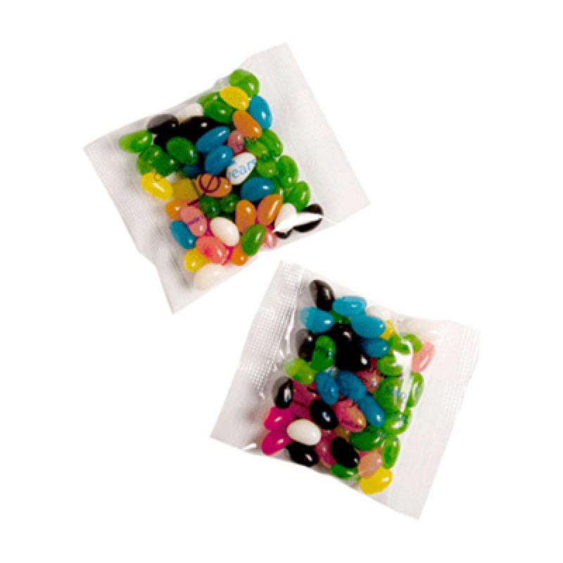 Jelly Beans Bag 50G (Mixed or Corporate Colours) - Includes Unbranded, From $0.62