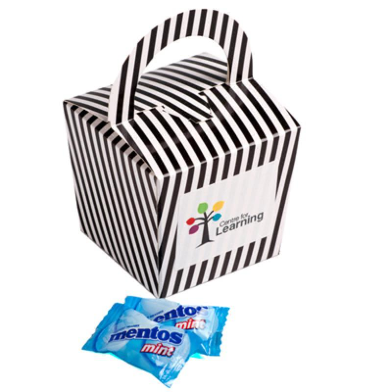 Coloured Noodle Box Filled with Mentos X26 - Includes Colour Sticker, From $2.88