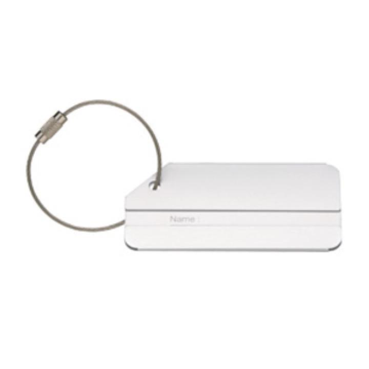 Brushed Aluminium Luggage Tag - Includes a 1 Colour Print, From $4.73