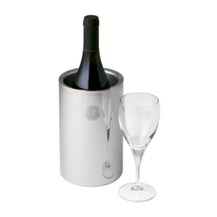 Stainless Steel Wine Bottle Cooler - Includes a 1 Colour Print, From $17.7