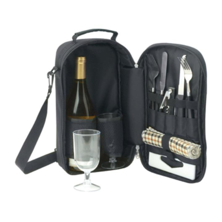 Kimberley Cooler Bag Wine & Cheese Set - Includes a 1 Colour Print, From $21.3