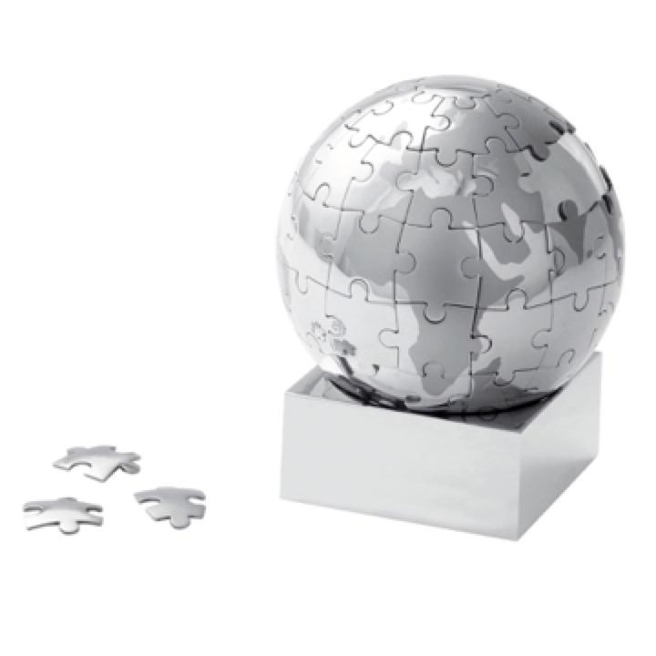 Executive Globe Puzzle - Includes a 1 Colour Print, From $32.0