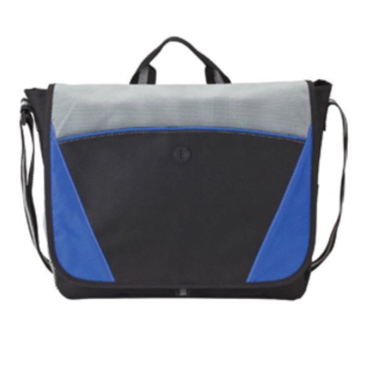Milan Messenger Bag - Includes a 1 Colour Print, From $9.22