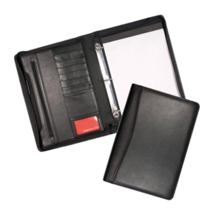 Cambridge Leather 3 Ring Compendium - Includes a 1 Colour Print, From $55.2