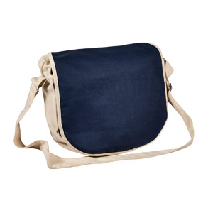 100% Organic Cotton Satchel - Includes a 1 Colour Print, From $12.0