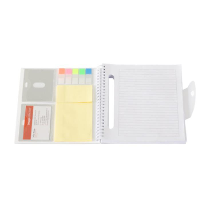 Frosty Notepad - Includes a 1 Colour Print, From $6.82