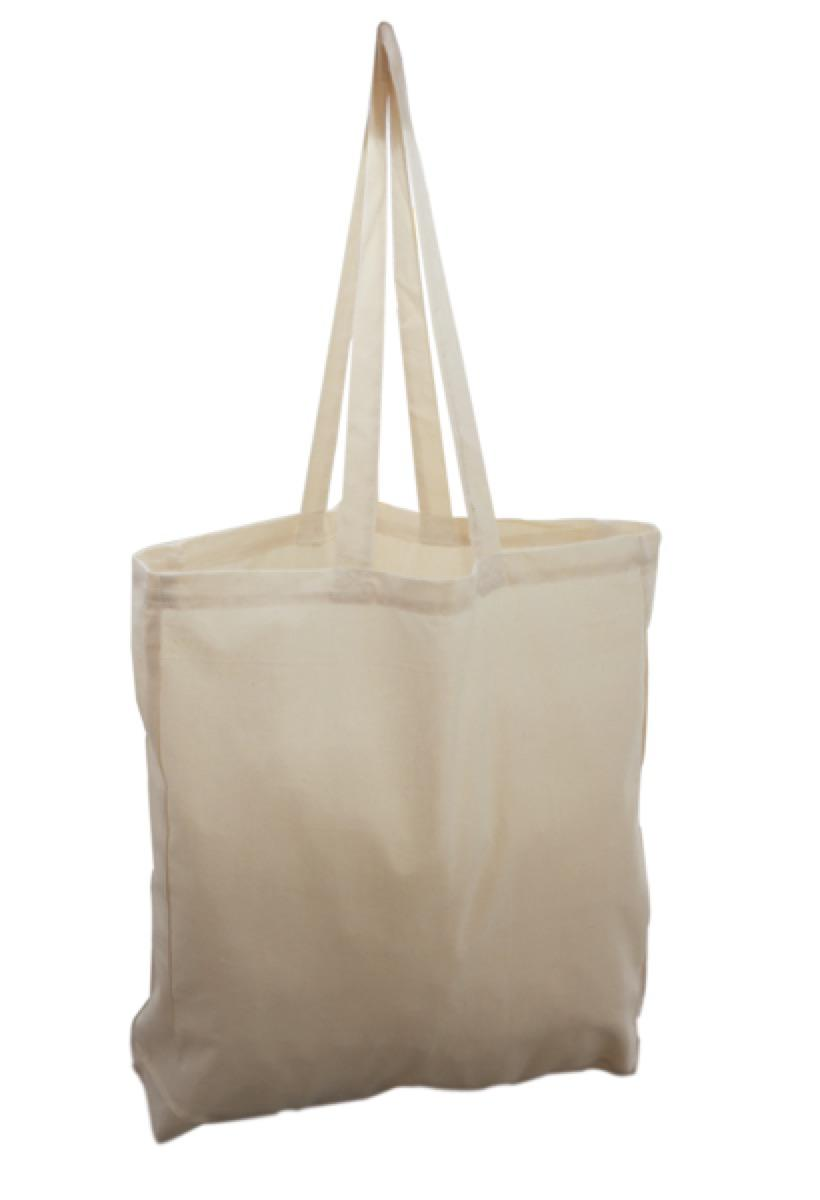 CALICO BAG -  Includes a 1 colour printed logo, From $2.47