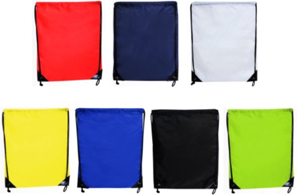 Back Sack -  Includes a 1 colour printed logo, From $1.84