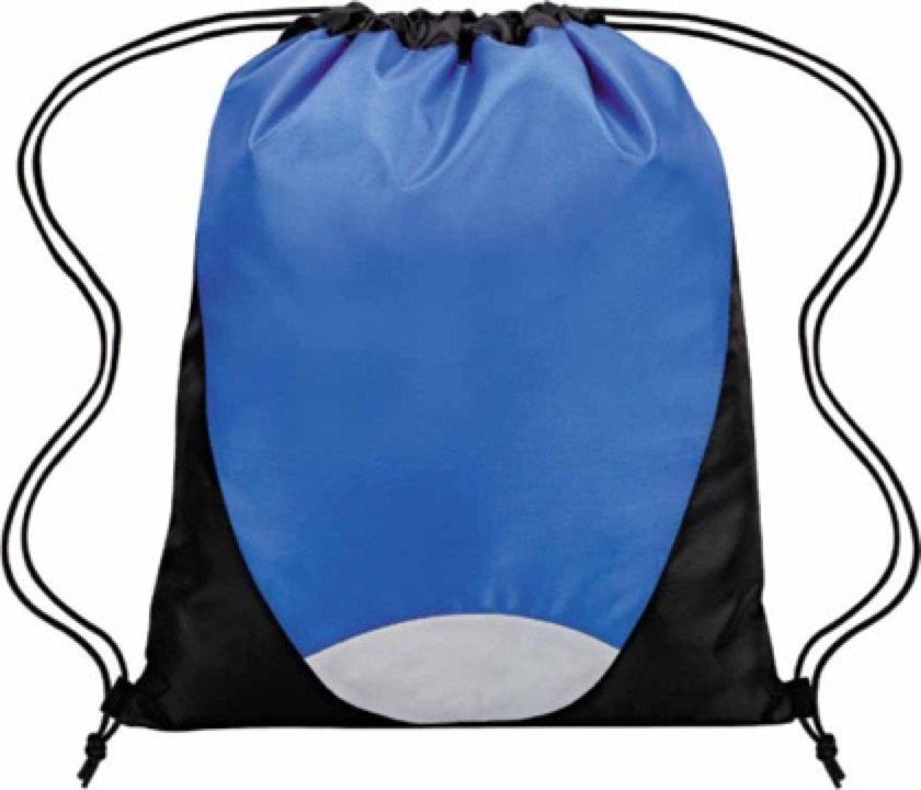 DRAWSTRING BAG -  Includes a 1 colour printed logo, From $3.25