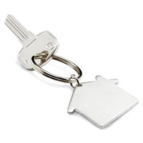 House Shape opener key ring  -  Includes laser engraving logo, From $1.21