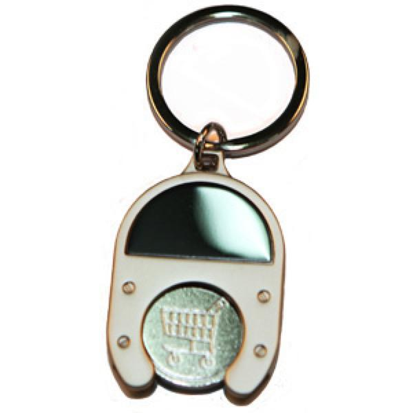 TROLLEY KEY RING  -  Includes laser engraving logo, From $1.73