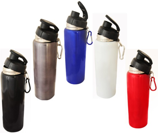 Sport Drink Bottle with Carabiner-BPA Free -  Includes laser engraving logo, From $4.8