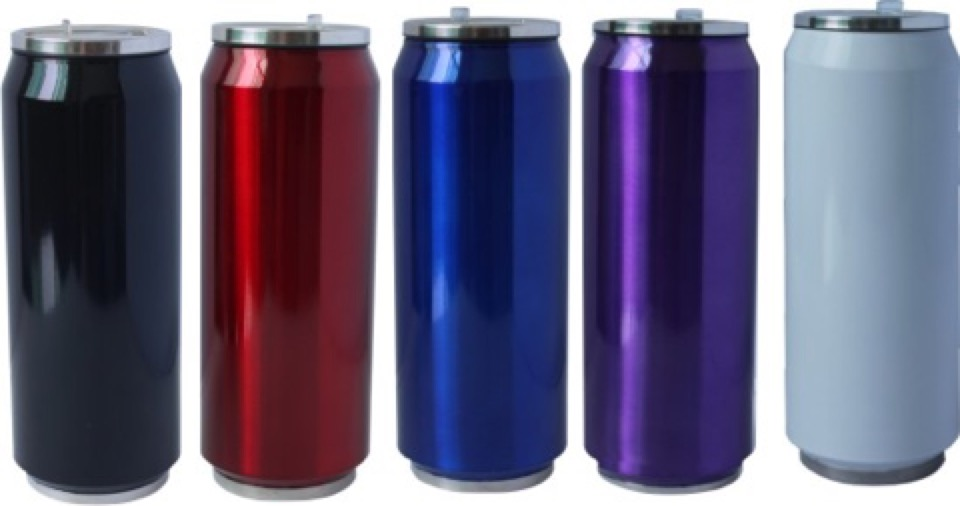 500ML Thermal Can -  Includes 1 colour wrap print, From $6.62