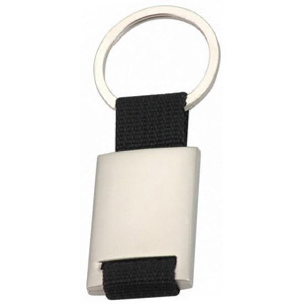 Band Key ring  -  Includes laser engraving logo, From $1.36
