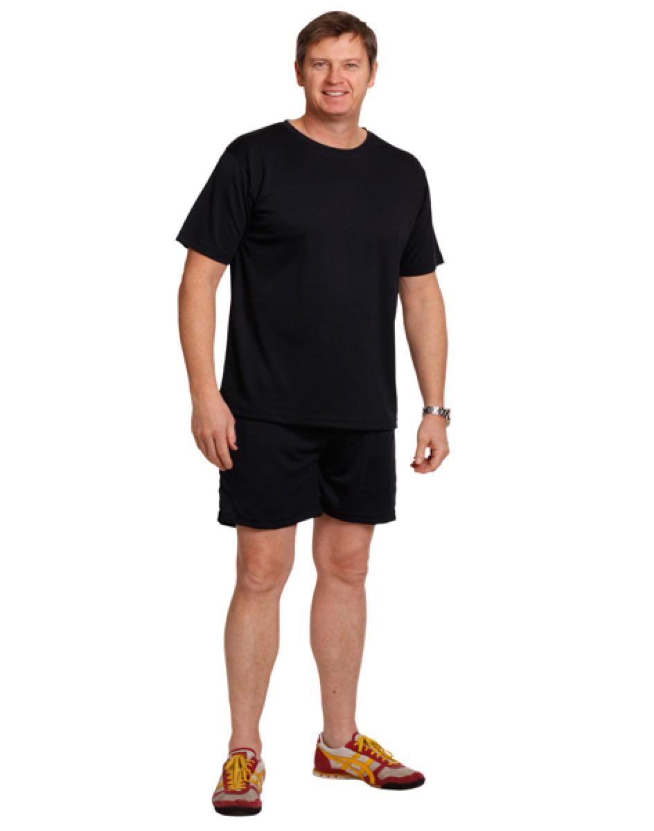 Adult cooldry sports shorts