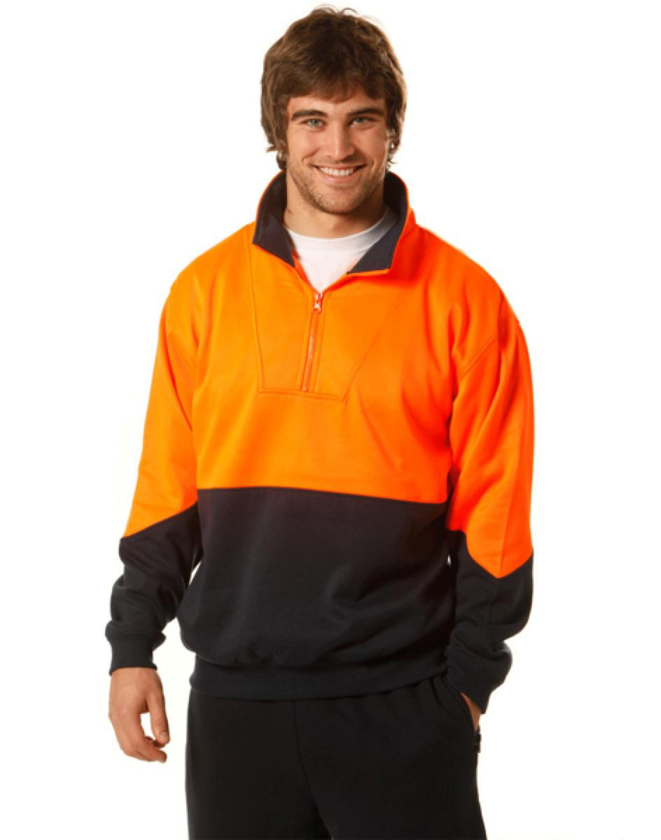 Hi-Vis L/S windcheater collar, From $20.9