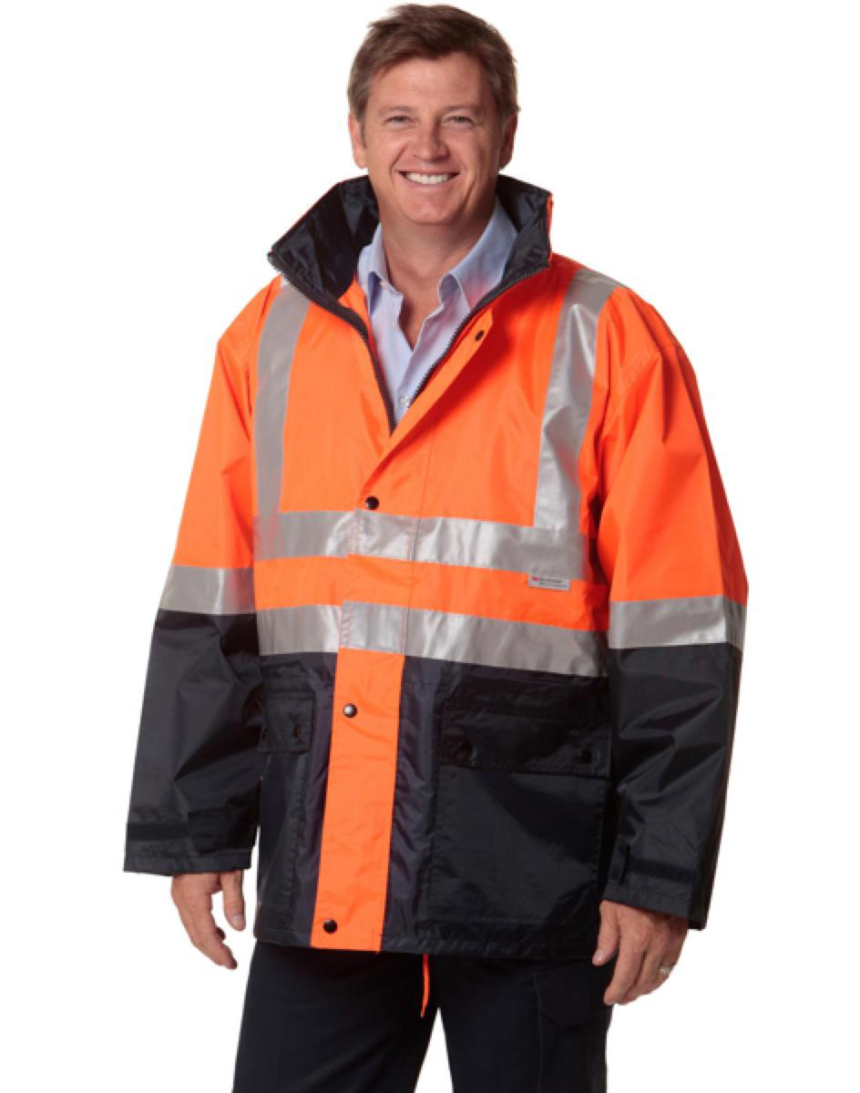 Hi-Vis Jacket 3M bands night Ref, From $39.1