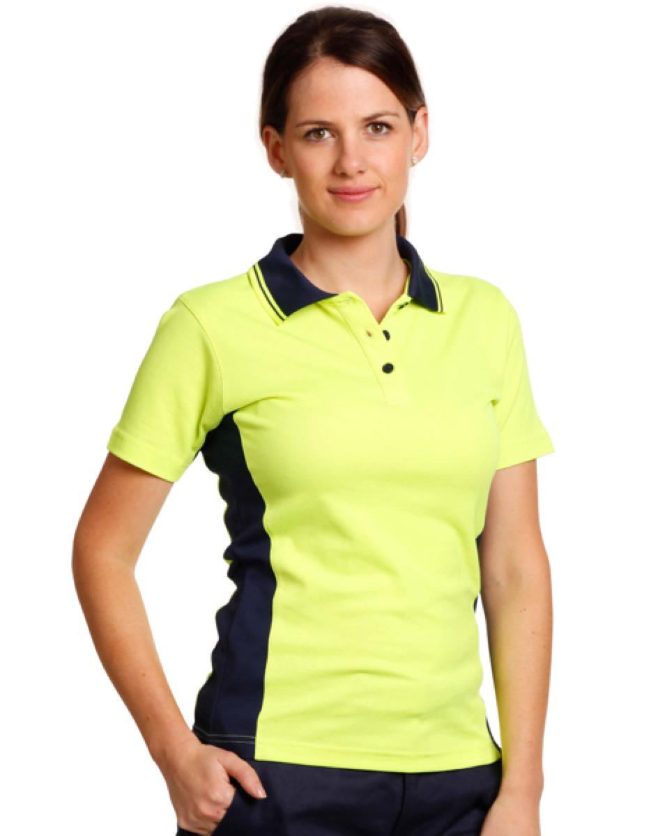 Ladies' fashion TrueDry safety polo, From $8.69