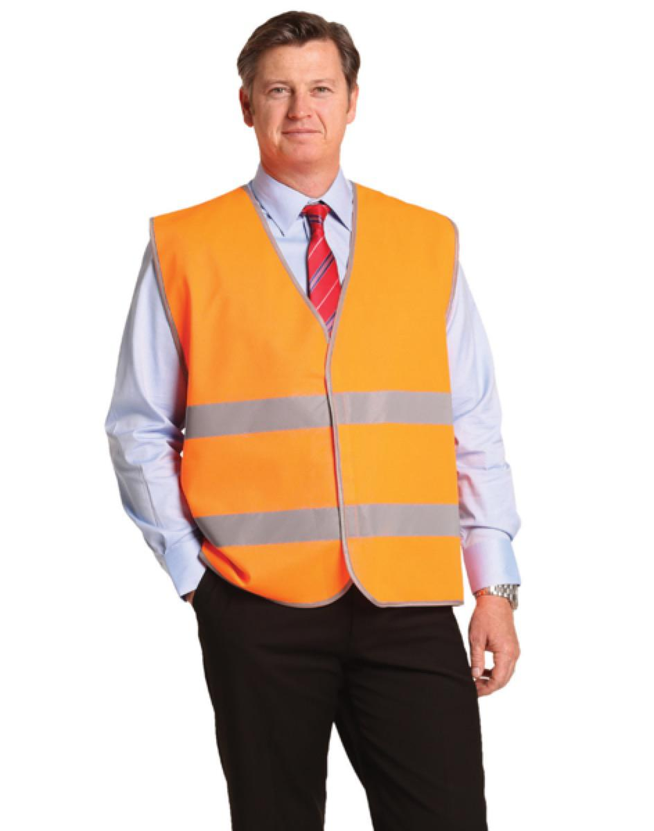 Hi-Vis Safety Vest With Reflective Tapes, From $5.31