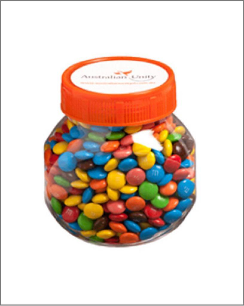 Jar Plastic – 170G Coloured Lid