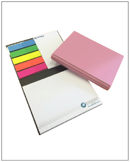 Sticky Notes with Leather Cover