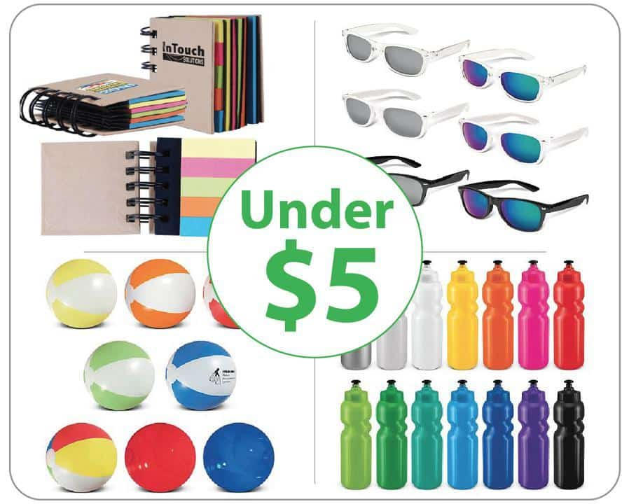 Promotional Products under $5