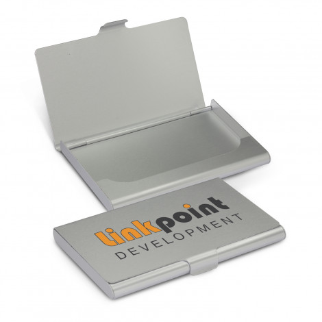 Aluminium Business Card Case - Printing Per Col/Pos