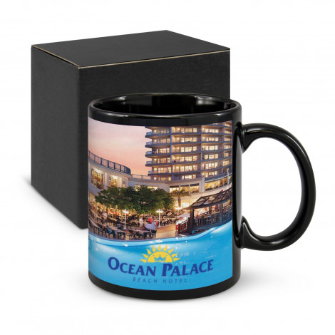 Black Hawk Coffee Mug - Full Colour Print