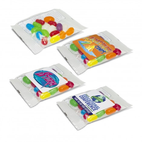 Rainbow Jelly Beans - Digital Label