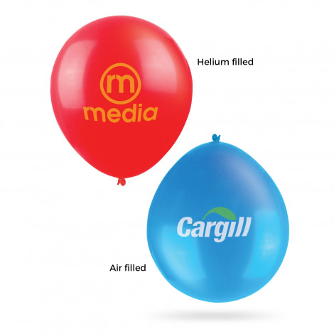 30cm Balloons - Printing Per Col/Pos (air filled)