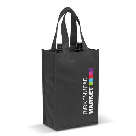 Wine Tote Bag - Double - Printing Per Position